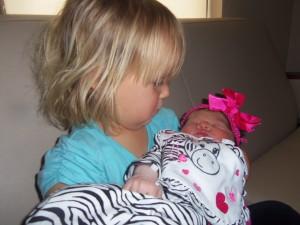 Tarzah and baby girl