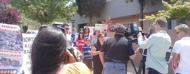 Albuquerque TV Station Reports On Pro-Life Rally