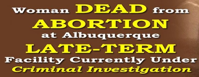 In Light of Abortion Patient Death, New Mexico Rep. Pearce Seeks Federal Investigation