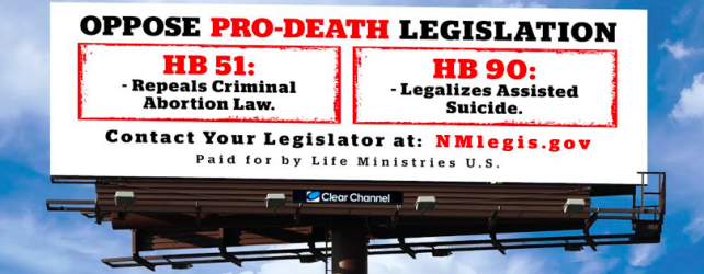 Abortion Free New Mexico Stands in Solidarity with New Mexico Bishop Opposing HB-51