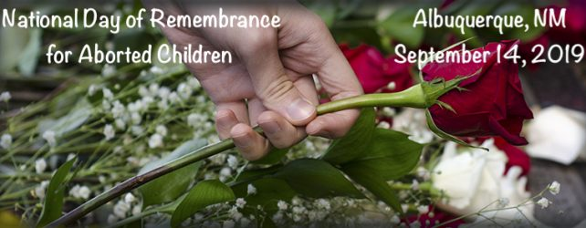 Join us for the Nat'l Day of Remembrance for Aborted Children 9/14