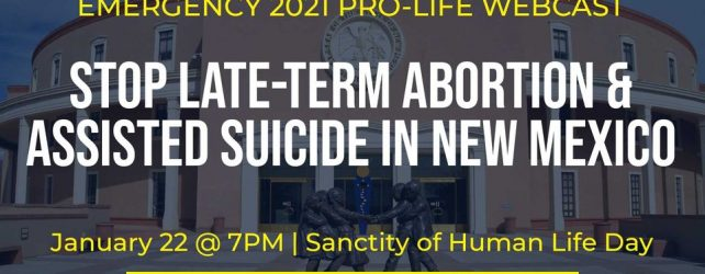 Emergency Pro-Life Webcast